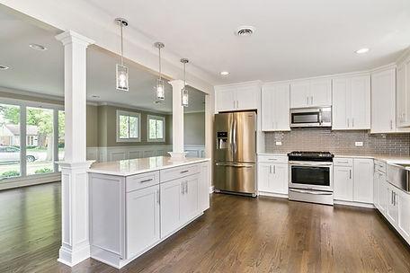 Home renovation kitchen renovation Division 3 Corp.