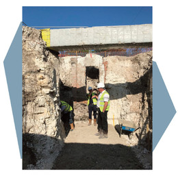 Excavations for New Stairs