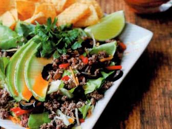 Jalapeno Lime Taco Salad