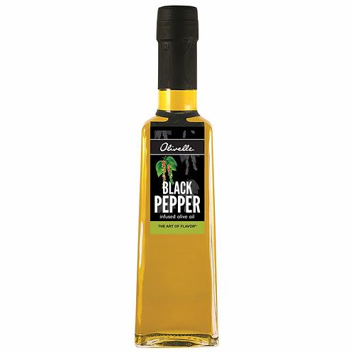Black Pepper Infused Olive Oil