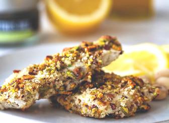 Pistachio Crusted Fish