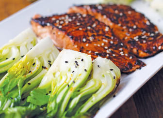 Blackened Asian Salmon