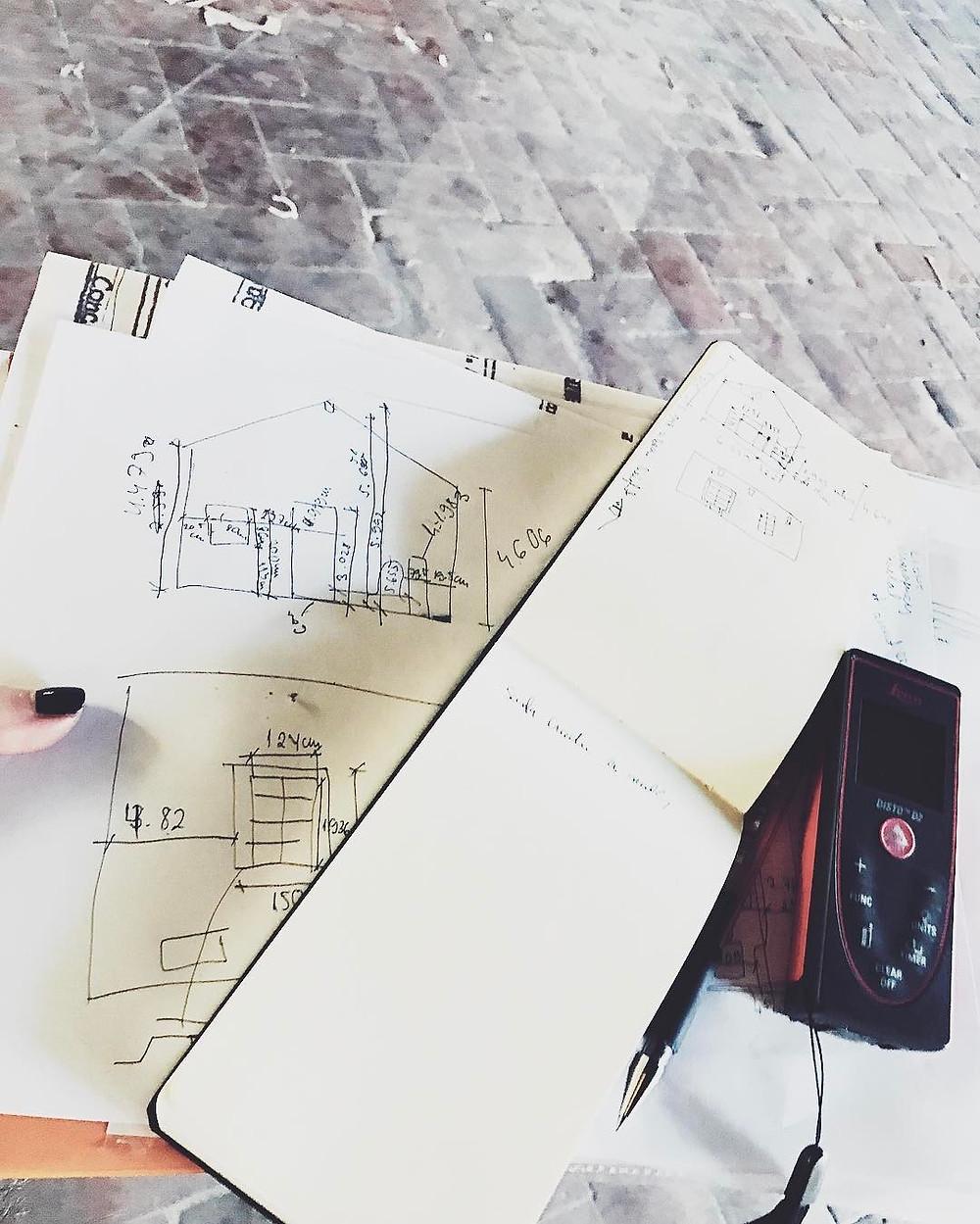 Technical - tools - Florence - Architecture - Interior - Design - School