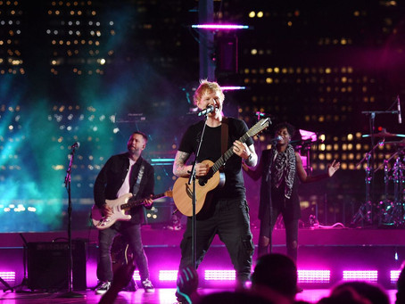 VMAS 2021 with Ed Sheeran