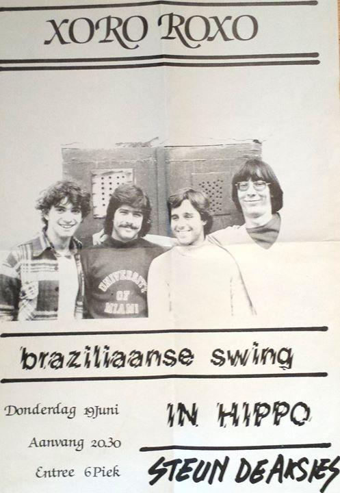 Xoro Roxo in Holland, 1981
