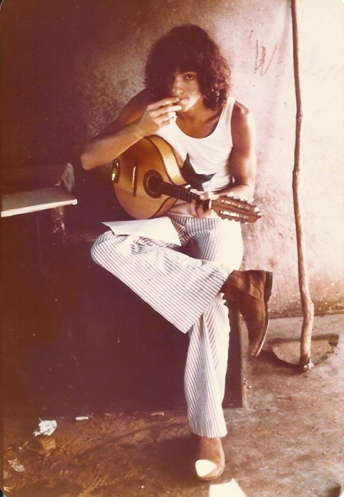 In 1977 in Goiás Velho, Brazil