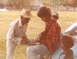 In 1978 in Trancoso, Brazil
