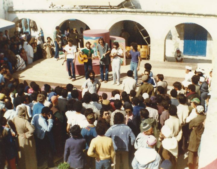In 1980 Essaouira, Morocco