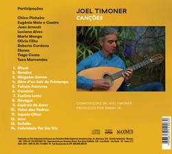 Back cover of Joel-Canções