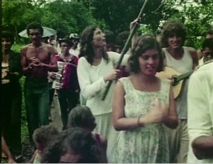 In 1977 in Trancoso, Brazil