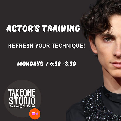 BEYOND REPETITION - ACTORS TRAINING