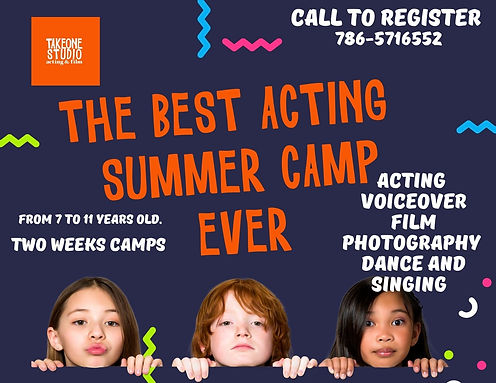 miami acting summer camp