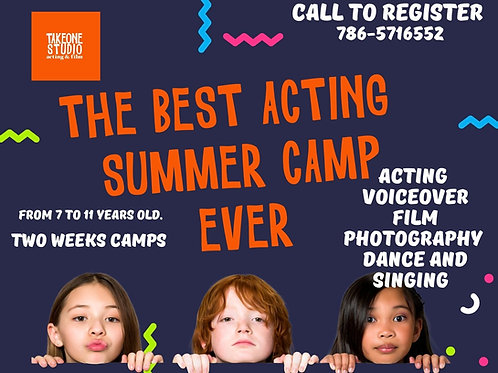 ACTING SUMMER CAMP 12-15  Y/O