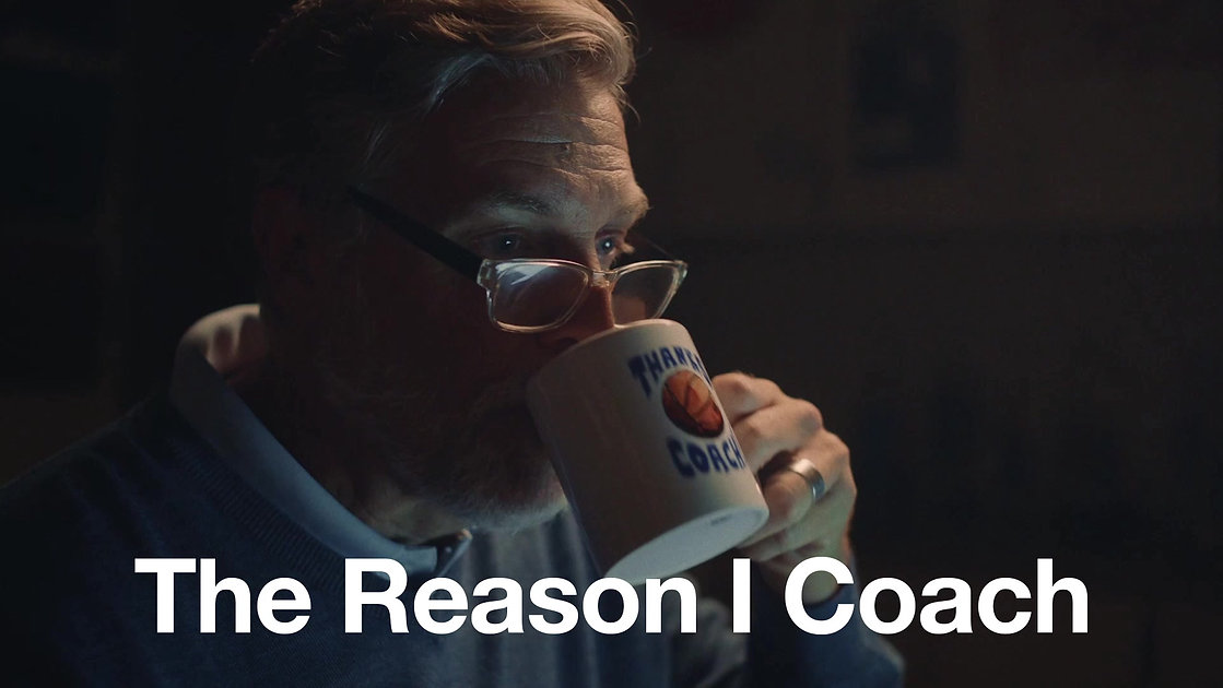 The Reason I Coach. A compelling story about the behind-the-scenes efforts of coaches everywhere. BAND. Teams Wanted.