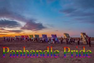 Pride Month Cadillac Ranch