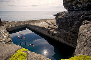 Poll na bPeist, Inis More, Aran Islands_