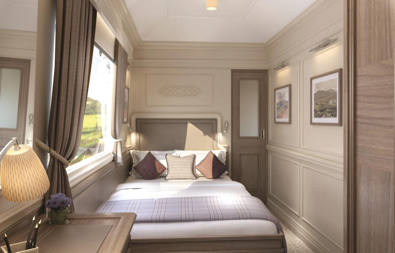 Belmond Grand Hibernian Train Fermanagh Cabin