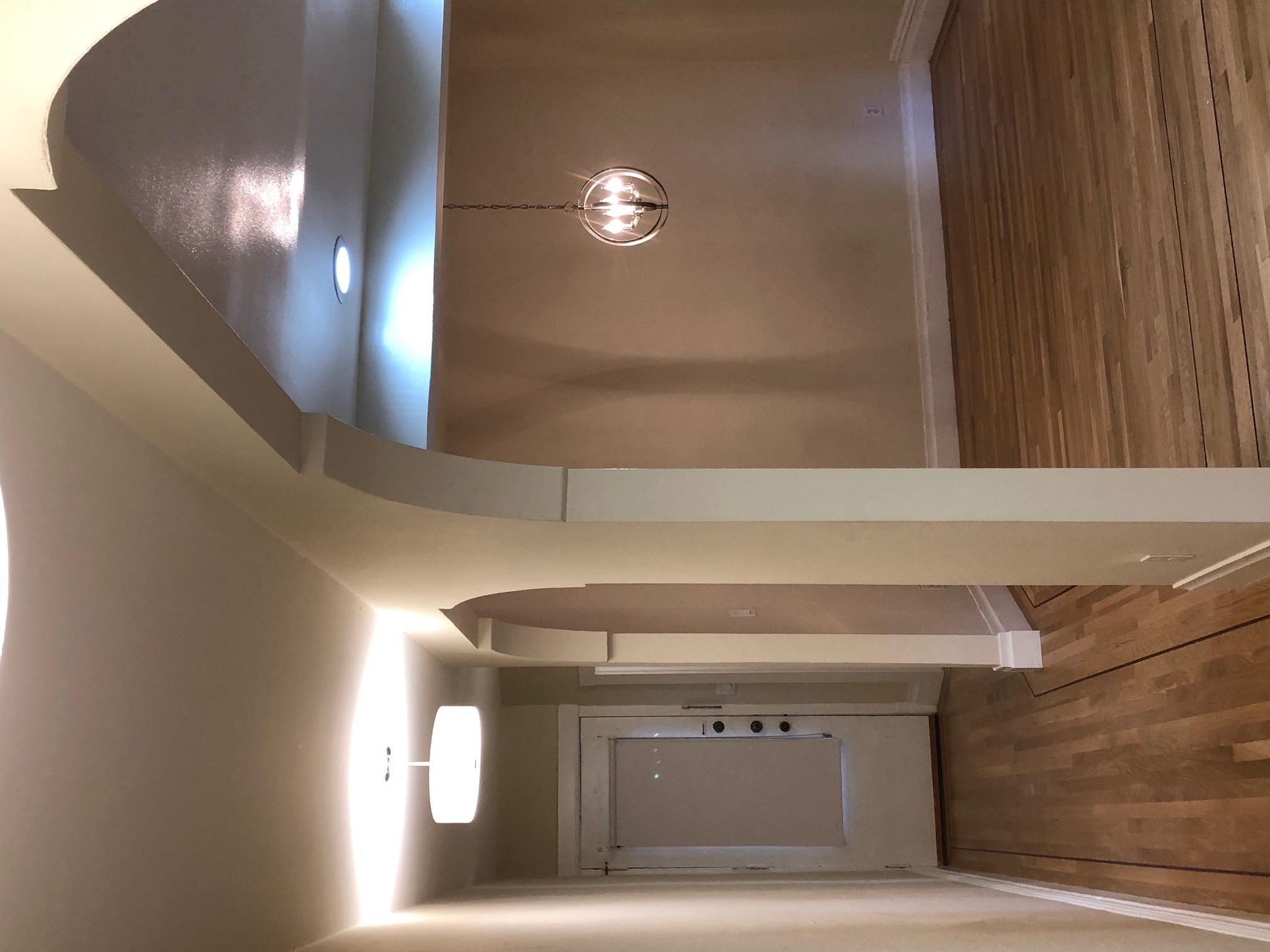 Living Room and Hallway