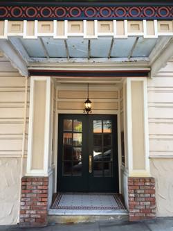 Secure Building Entrance