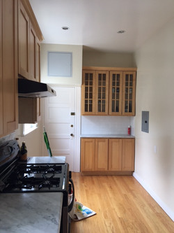 Kitchen Pantry and Backdoor