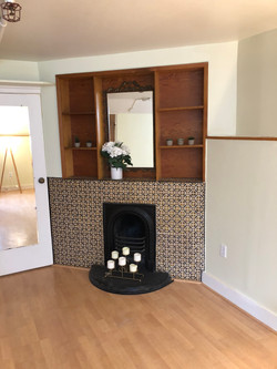 Ornamental Fireplace