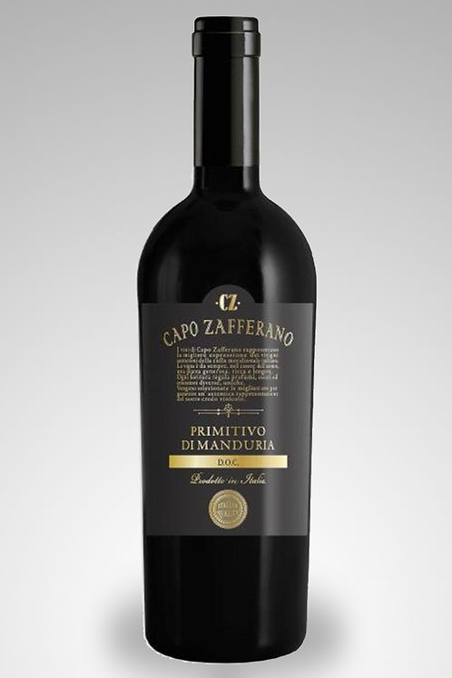 Capo Zafferano Primitivo di Manduria Black Label