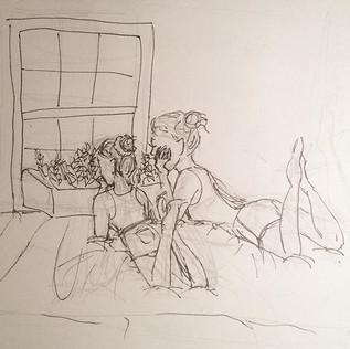 Summer Storm Concept Sketch