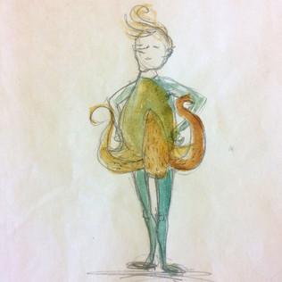 Tiger Lily Concept Sketch