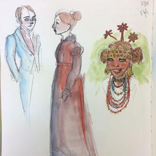 Victoria & Albert Museum Fashion Sketches