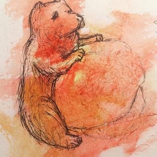MFA Bear Sketch