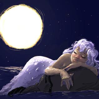 Sleepy Mermaid