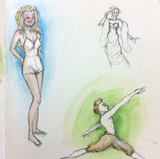 Victoria and Albert Museum Sketches