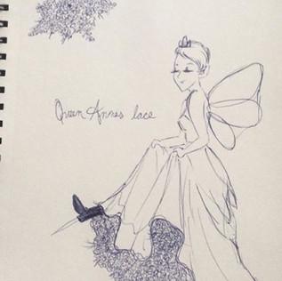 Queen Anne's Lace Concept Sketch