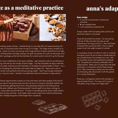 Fudge Recipe Spread