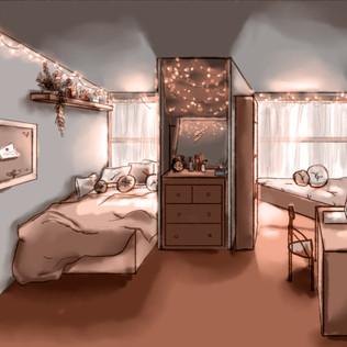 Cozy Caswell Bedroom