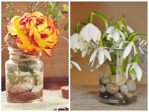 23 Ideas originales para decorar tu hogar con flores