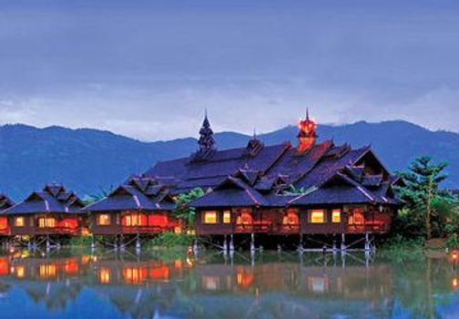 Amata garden resort inle lake