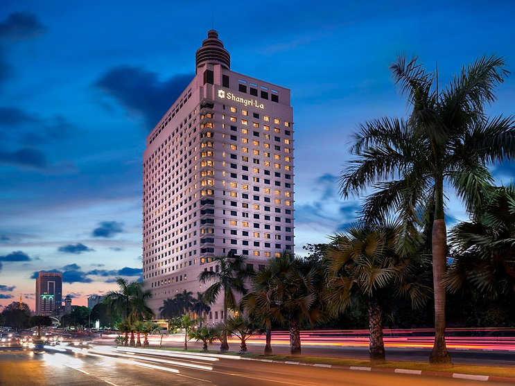 Sule Shangri La hotel yangon
