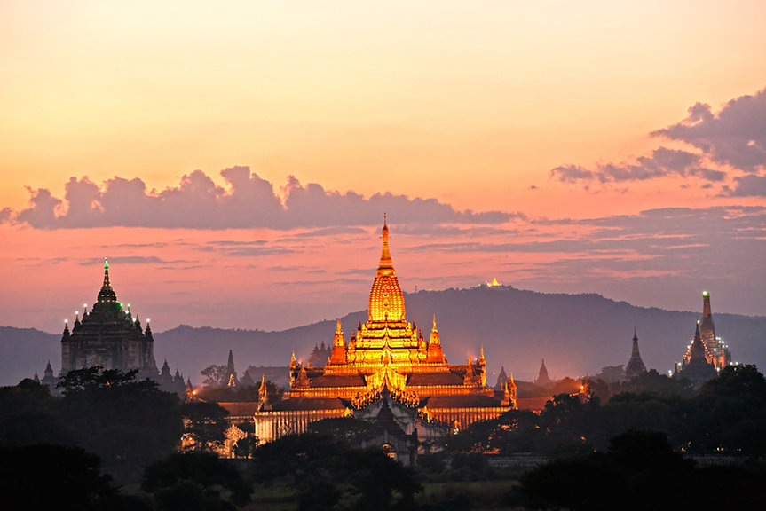 Natural beauty of myanmar