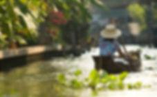 Thonburi canals in Bangkok