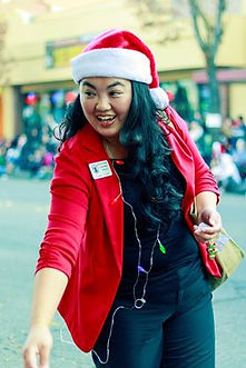 Lee Lor at Christmas Parade