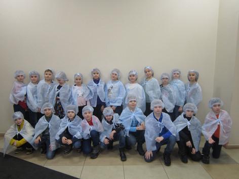 """Экскурсия на молокоперерабатывающий завод """"Молвест"""""""