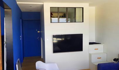 Aménagement studio gain d'espace