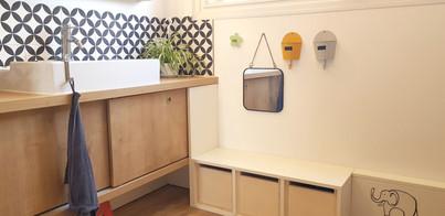 Aménagement de salle de bain, ID-KOA Designer d'espace