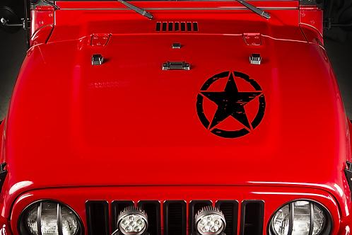 Jeep Hood Star