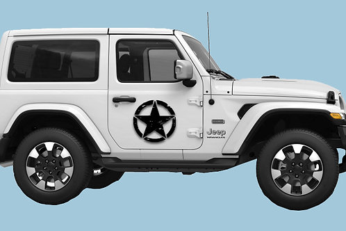 Jeep Victory Star Decal