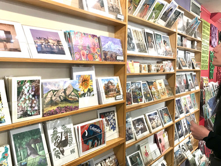 Art Greeting Cards now available at several Local Stores!