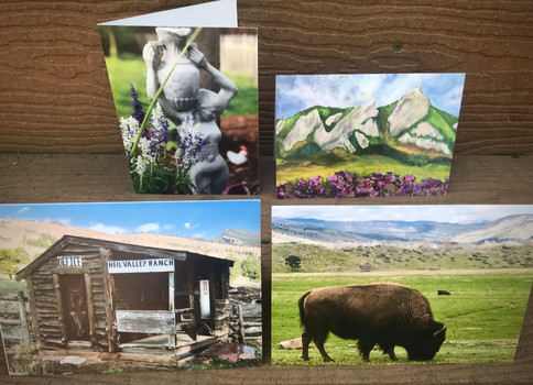 Set of 4 Colorado Art Greeting Cards