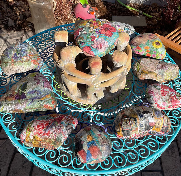 Wrapped Rocks (lg)