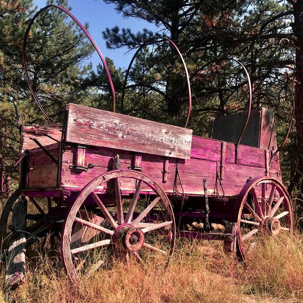 The Wagon at Heil Ranch